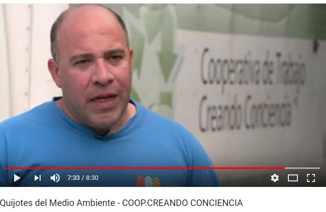 Quijotes del Medio Ambiente- Cap. 6- Cooperativa Creando Conciencia
