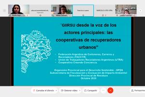 Presentes en el Ciclo de Charlas sobre Residuos Sólidos Urbanos organizado por el OPDS