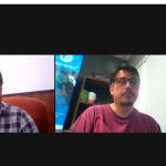 Reunión con Adrián Biyovich, presidente comunal de Luis Palacios, Santa Fe