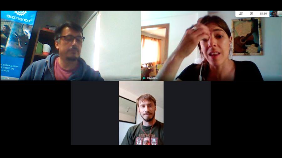 Reunión con representantes de la Secretaría de Ambiente de Neuquén, Capital
