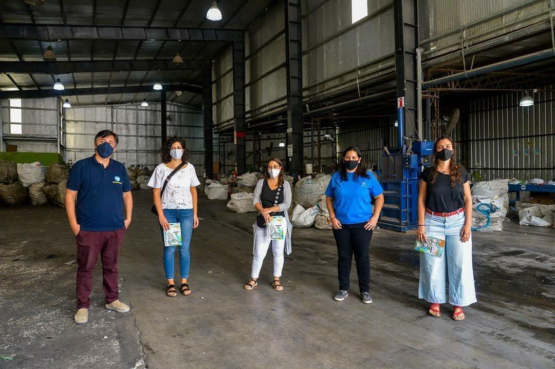 Recibimos la visita de miembros del Ministerio de Producción de la Provincia de Buenos Aires
