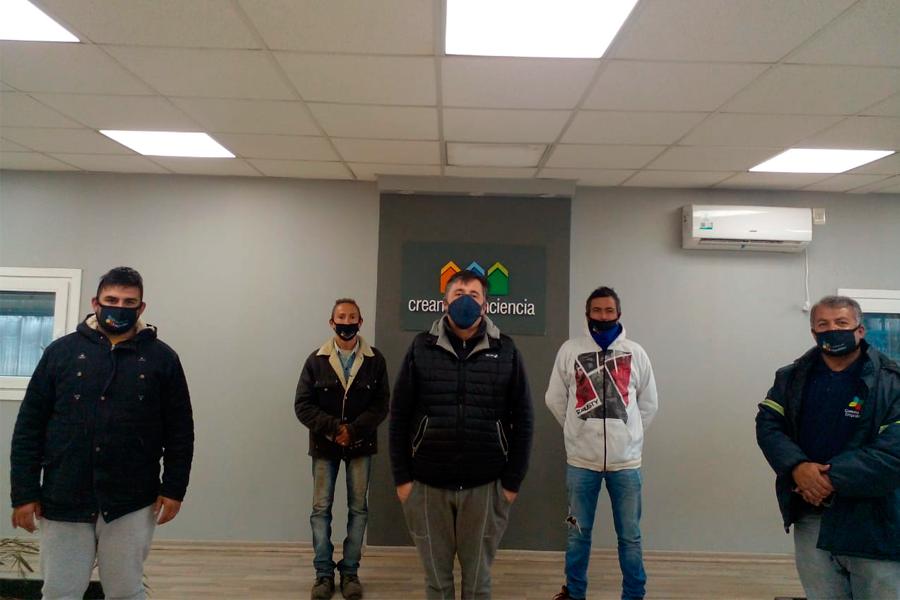 Recibimos a autoridades del Municipio de Empalme Villa Constitución  e integrantes de Empalme Recicla