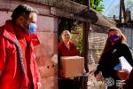 Presentes en una jornada especial de asistencia en el Barrio Garrote junto al OPISU, la cooperativa Vecinos Solidarios y la Secretaría de Desarrollo Social y Políticas de Inclusión de Tigre