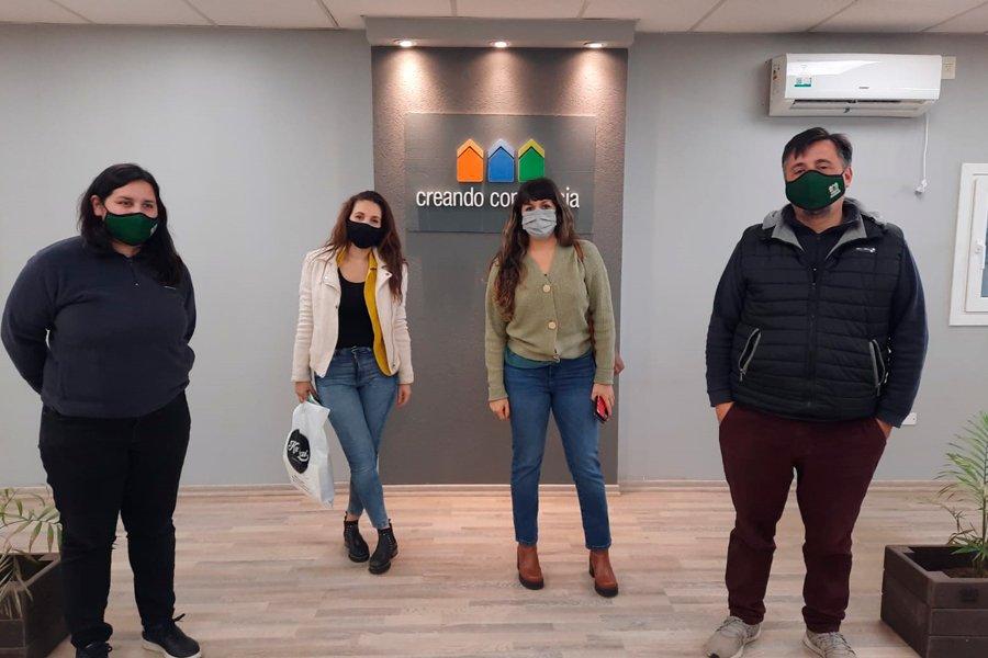Recibimos la visita de miembros del Correo Argentino