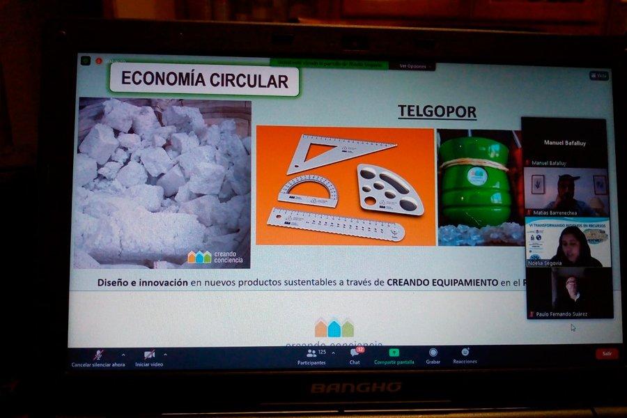 """Presentes en la Jornada """"VI Transformando Residuos en Recursos"""""""